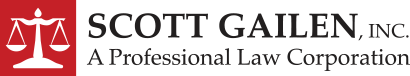 Scott Gailen, Inc. A Professional Law Corporation Header Logo
